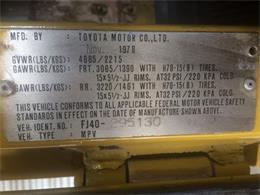 Picture of '78 FJ-40 - LZ2E