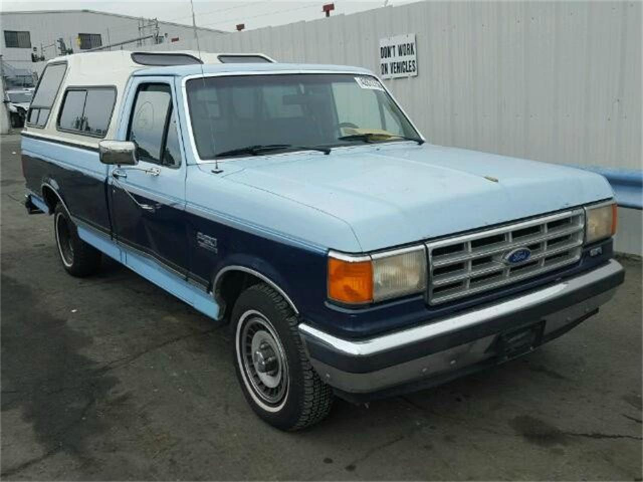 1987 Ford F150 >> 1987 Ford F150 For Sale Classiccars Com Cc 1025295