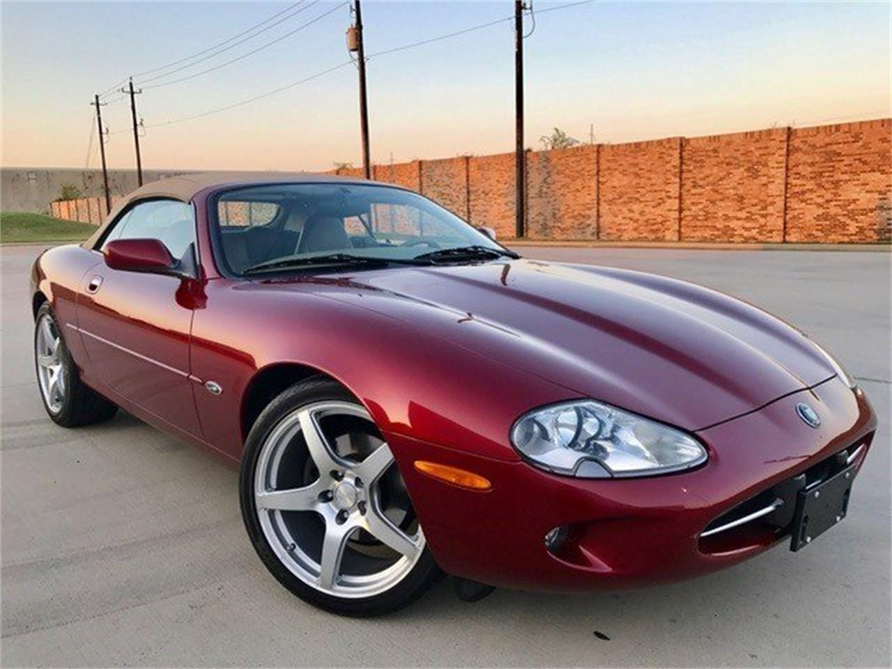 For Sale: 1997 Jaguar XK8 in Conroe, Texas
