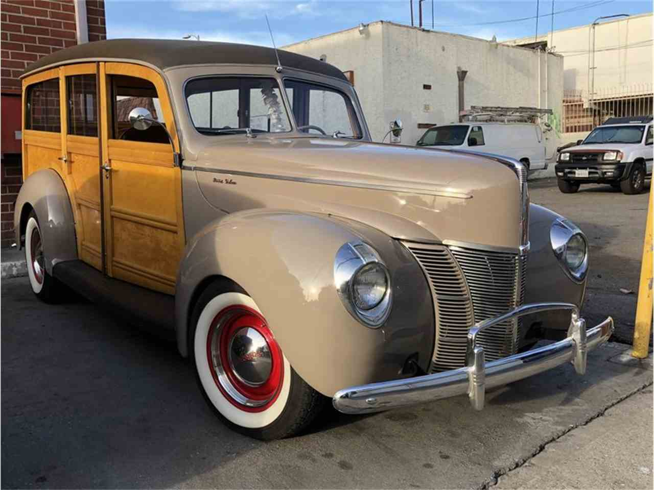 Large Picture of '40 Ford Deluxe - LVGZ