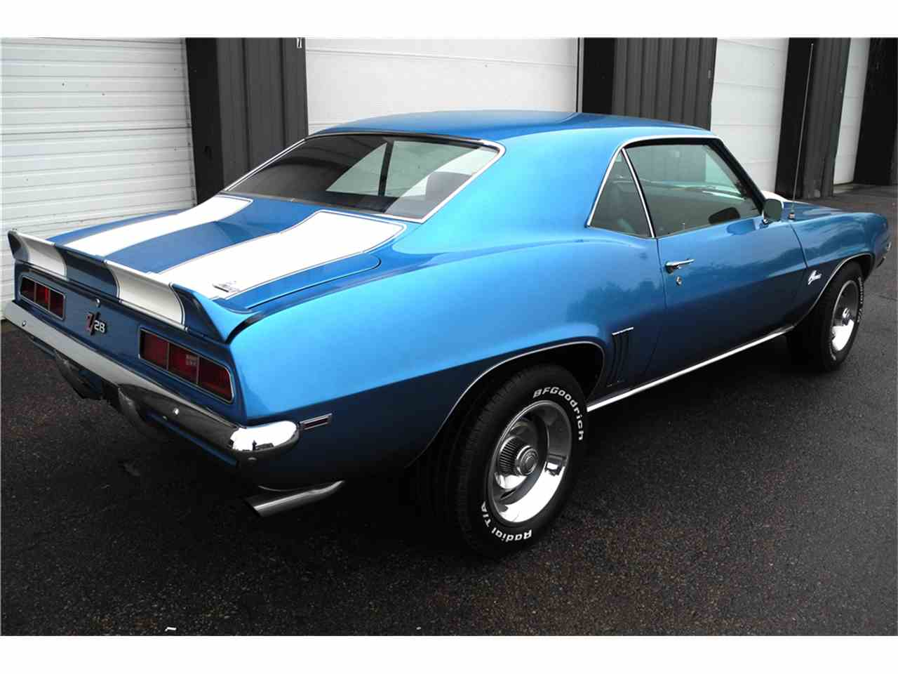 1969 chevrolet camaro z28 for sale cc 1025778. Black Bedroom Furniture Sets. Home Design Ideas