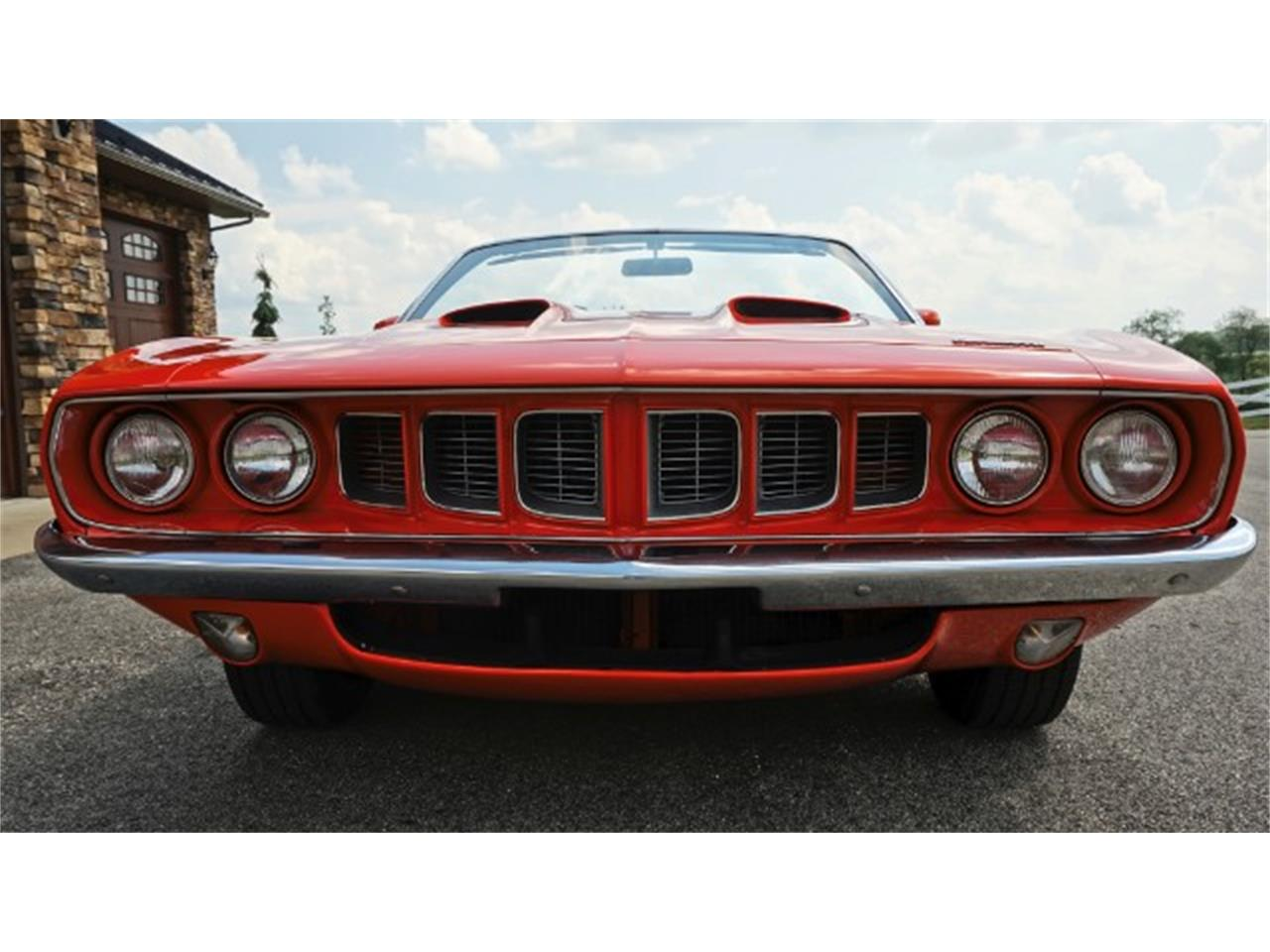 Large Picture of 1971 Plymouth Barracuda located in Indiana Pennsylvania Offered by Hanksters Hot Rods - LZQH