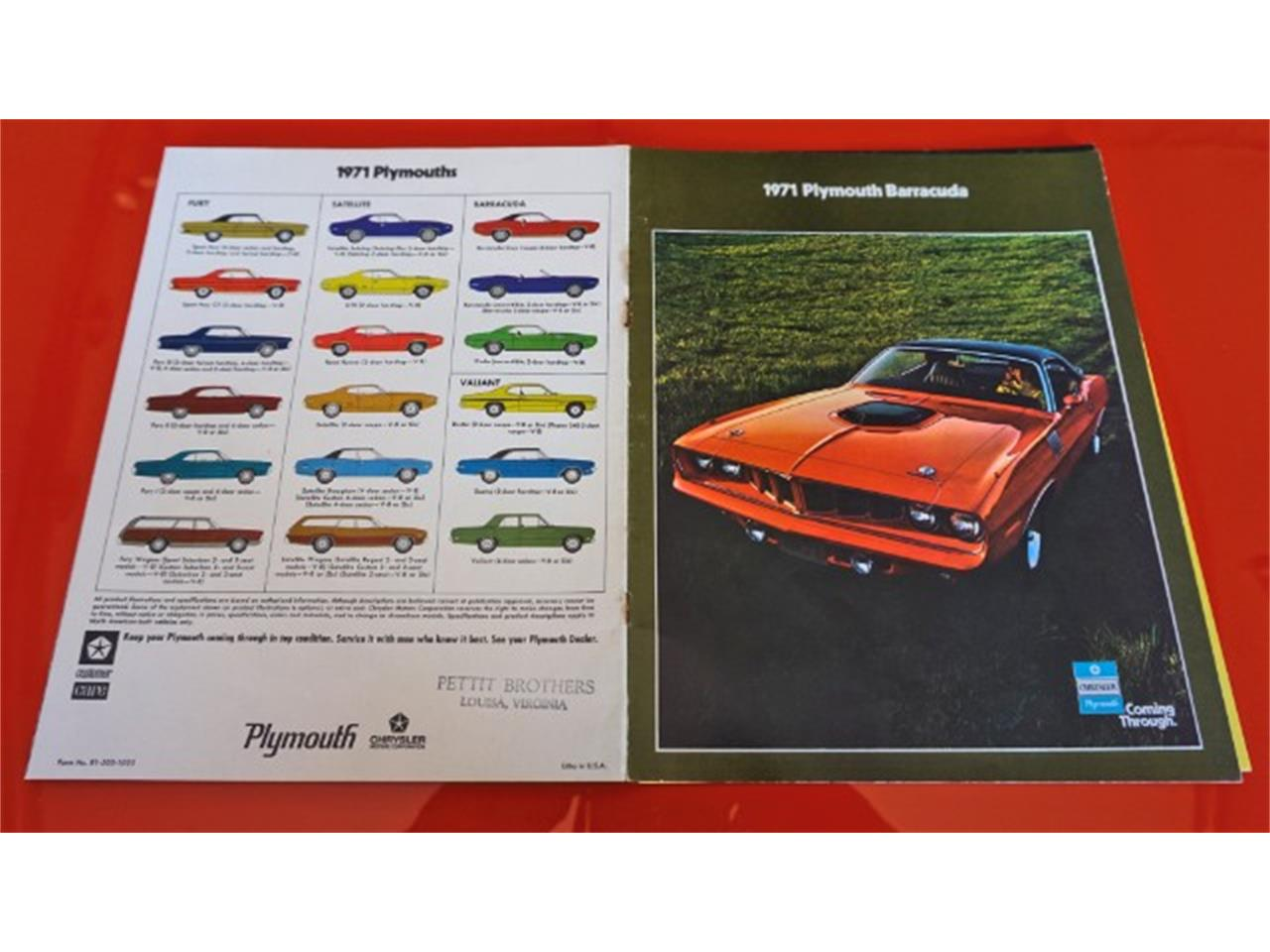 Large Picture of Classic '71 Plymouth Barracuda Offered by Hanksters Hot Rods - LZQH