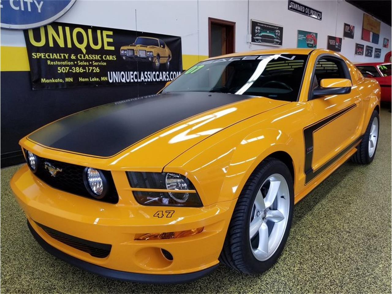 2007 ford mustang saleen heritage edition in mankato minnesota