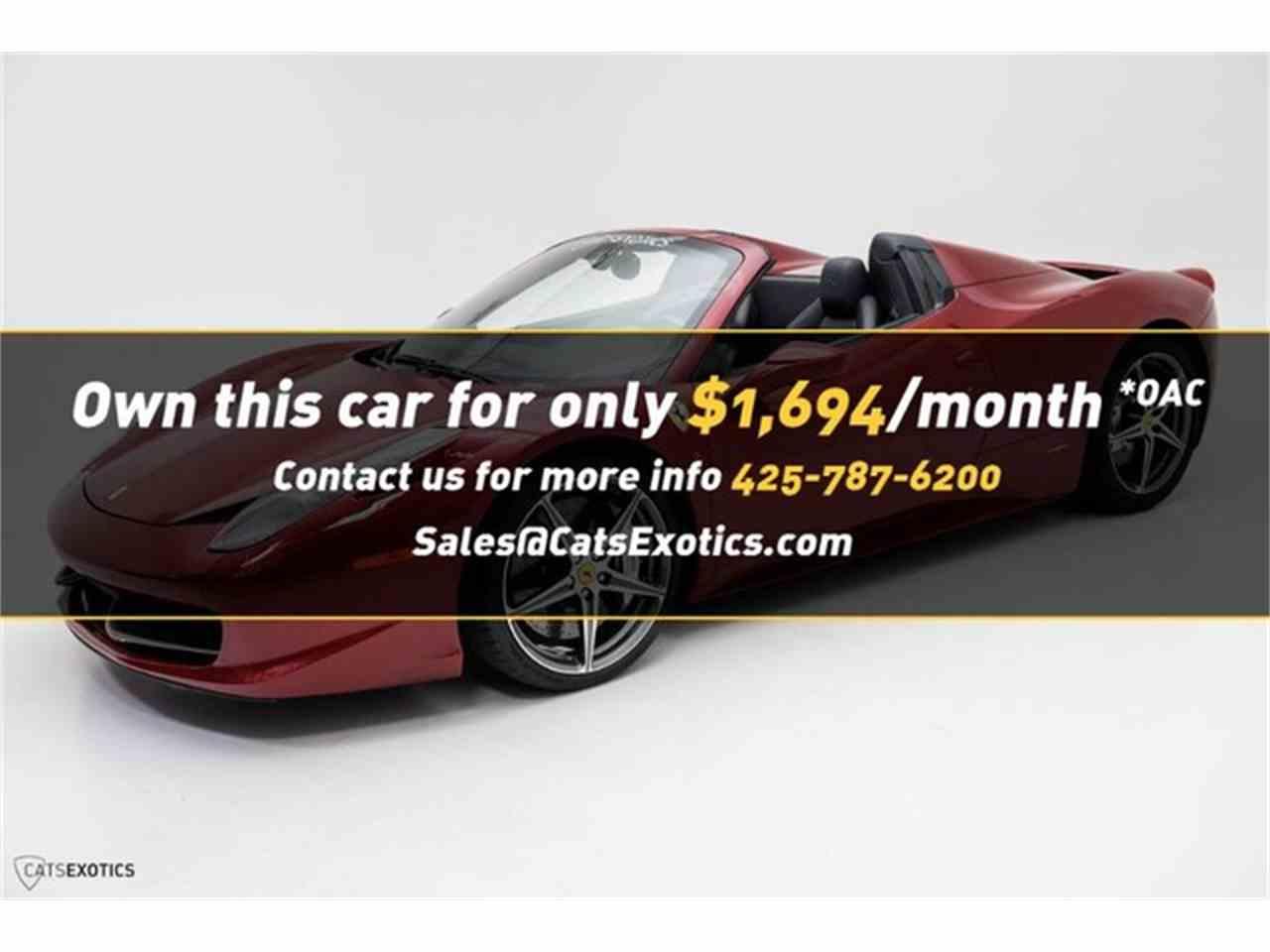 for ferrari photos seattle cars showroom sale stock sports car image in photo washington