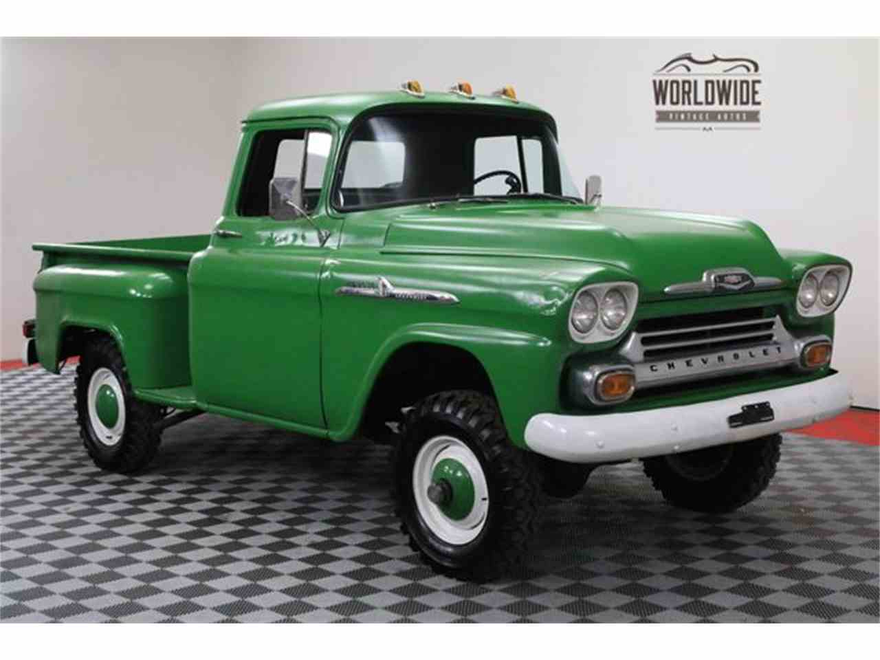 1958 Chevrolet 3100 for Sale | ClassicCars.com | CC-1026306