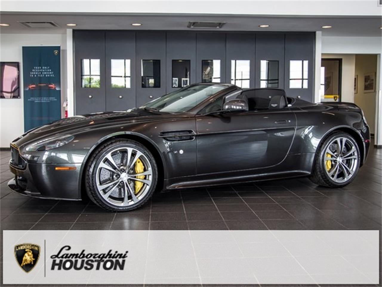 Aston Martin Houston >> For Sale 2015 Aston Martin Vantage In Houston Texas