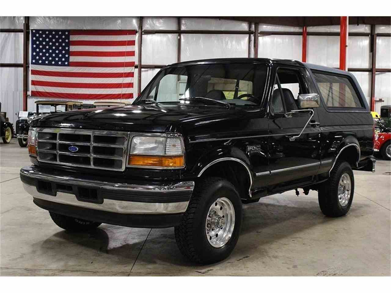 1996 ford bronco for sale cc 1026523. Black Bedroom Furniture Sets. Home Design Ideas