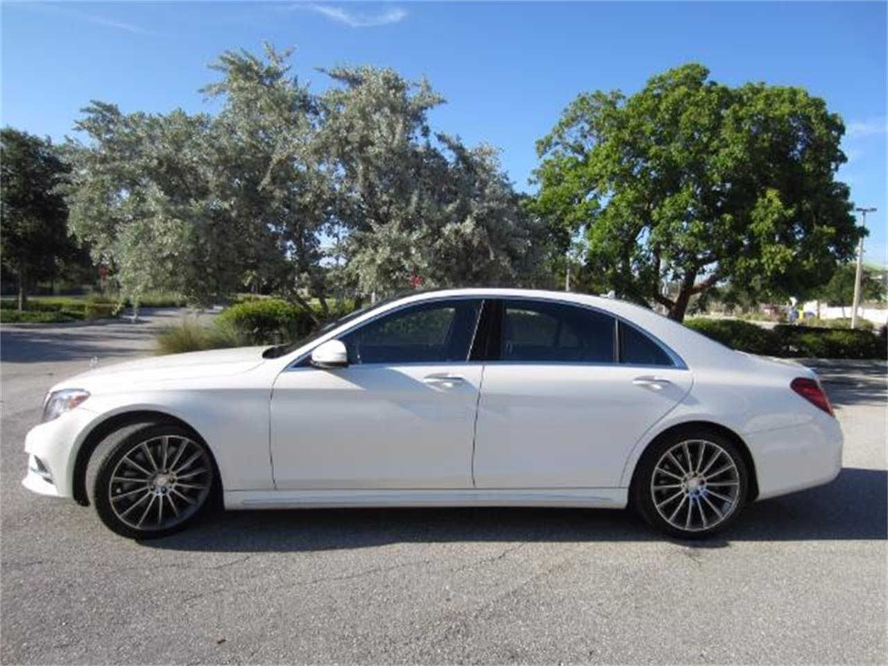 For Sale: 2015 Mercedes Benz S550 In Delray Beach, Florida