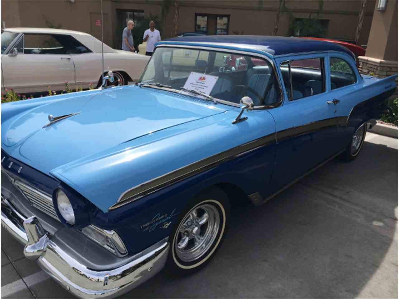Large Picture of '57 Ford Custom 300 located in Sun City Arizona - $23,900.00 - LVJX