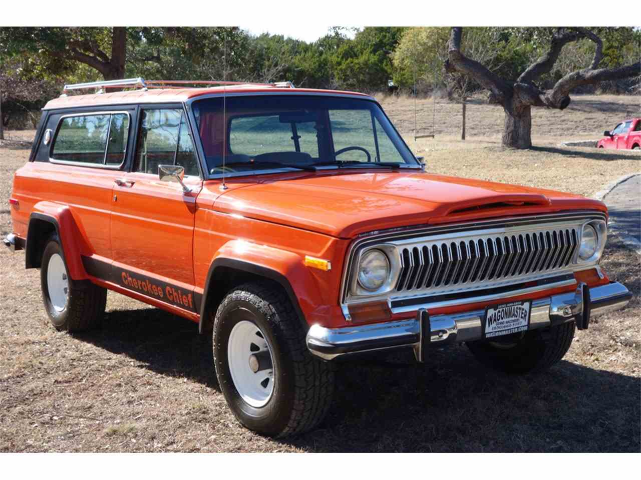 1978 jeep cherokee chief for sale cc 1020674. Black Bedroom Furniture Sets. Home Design Ideas