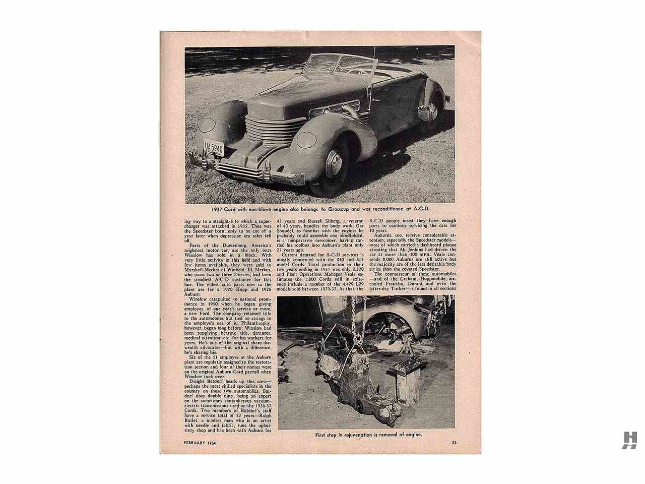 1936 Auburn 852 SC for Sale | ClassicCars.com | CC-1027032