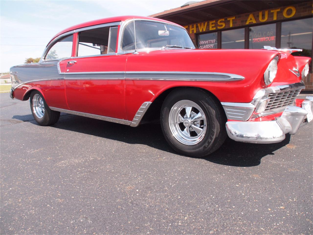 Large Picture of 1956 Chevrolet Bel Air located in North Canton Ohio - $37,000.00 Offered by Ohio Corvettes and Muscle Cars - LVL5