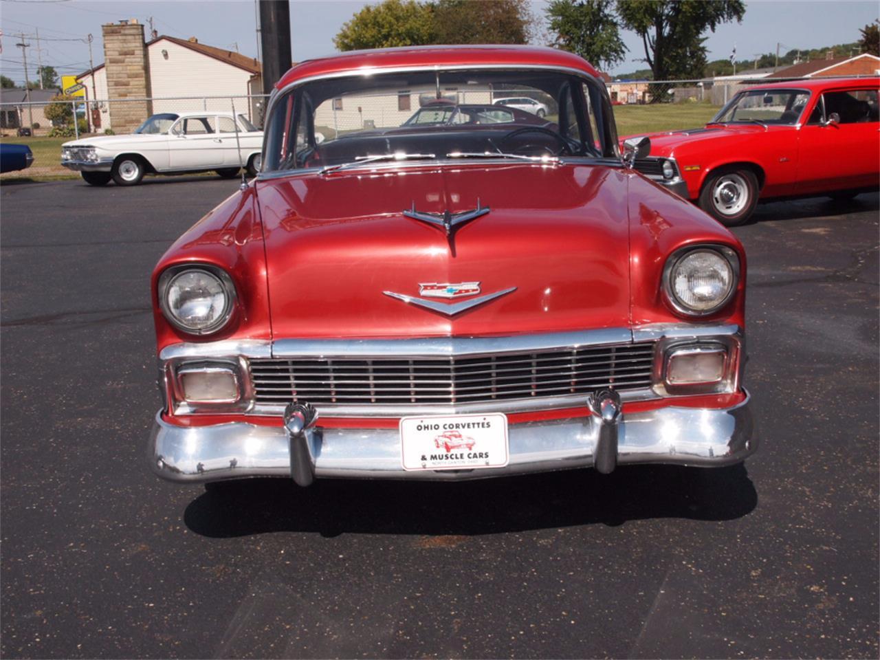 Large Picture of Classic '56 Bel Air located in North Canton Ohio - $37,000.00 Offered by Ohio Corvettes and Muscle Cars - LVL5