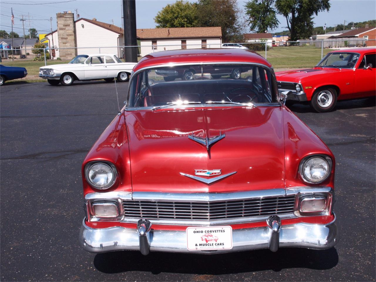 Large Picture of Classic '56 Bel Air located in North Canton Ohio Offered by Ohio Corvettes and Muscle Cars - LVL5