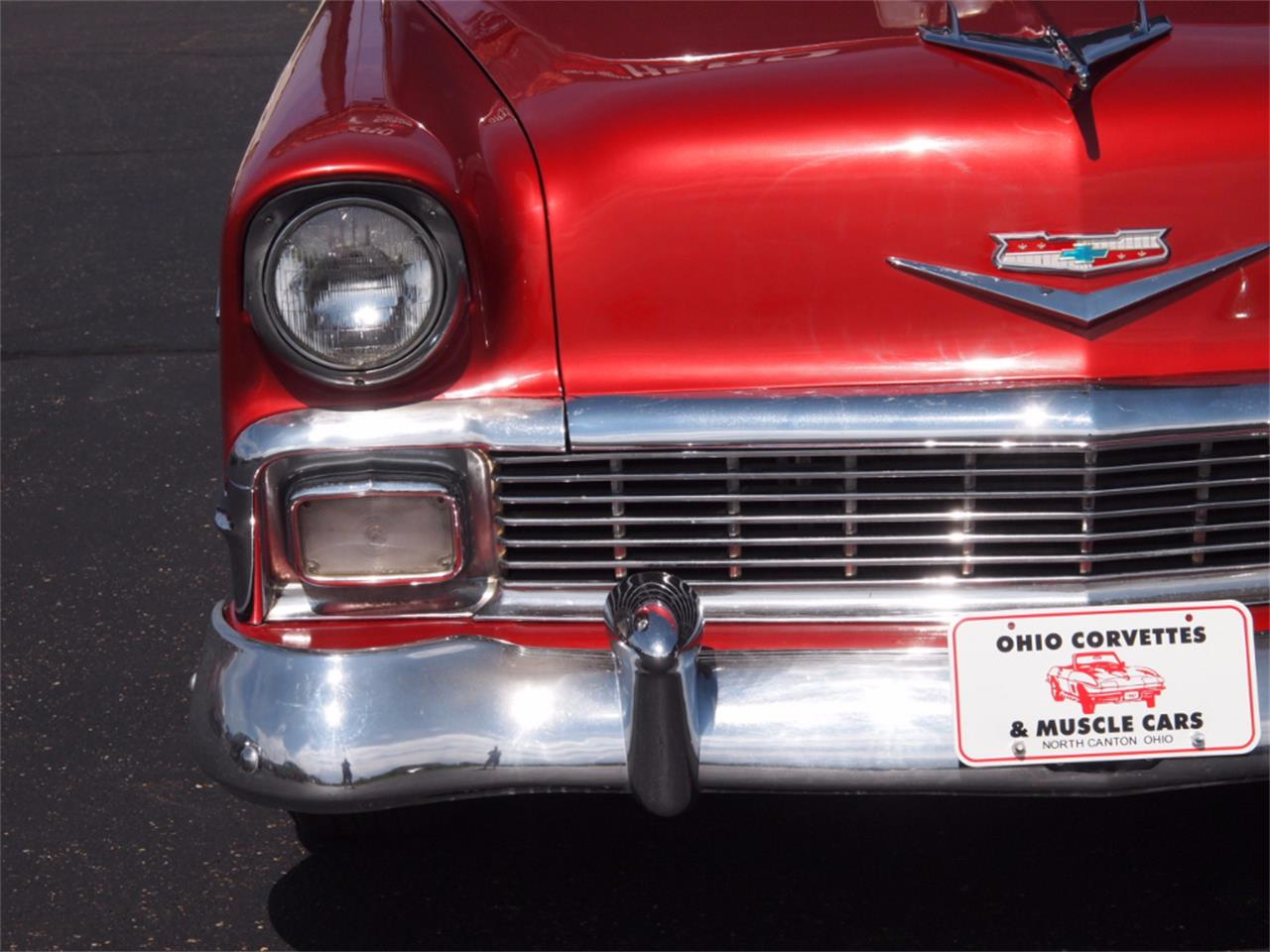 Large Picture of Classic 1956 Chevrolet Bel Air Offered by Ohio Corvettes and Muscle Cars - LVL5