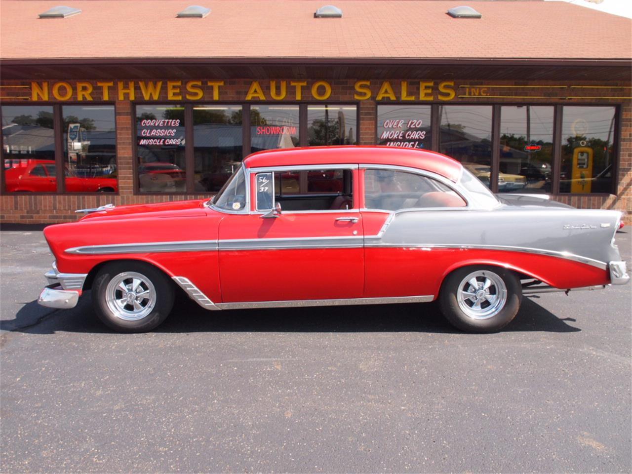 Large Picture of Classic '56 Chevrolet Bel Air - $37,000.00 - LVL5