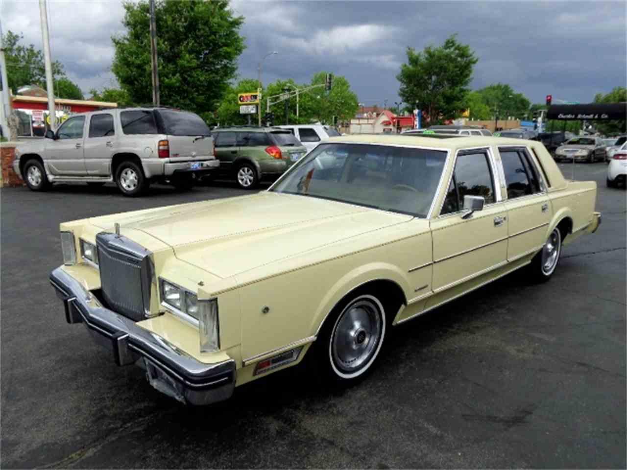 1981 Lincoln Town Car for Sale | ClicCars.com | CC-1027313