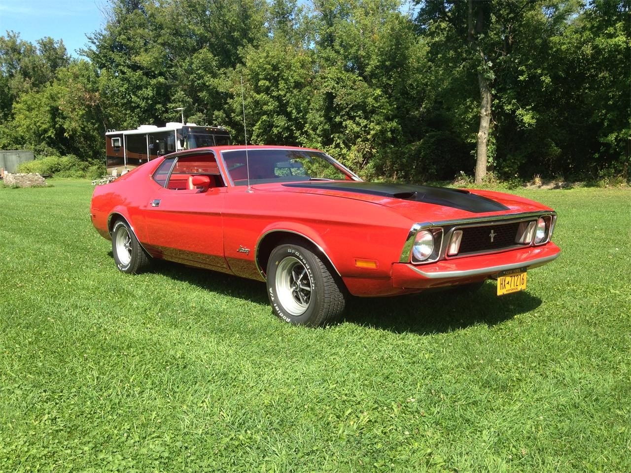 Large picture of 73 mustang mach 1 m0pp