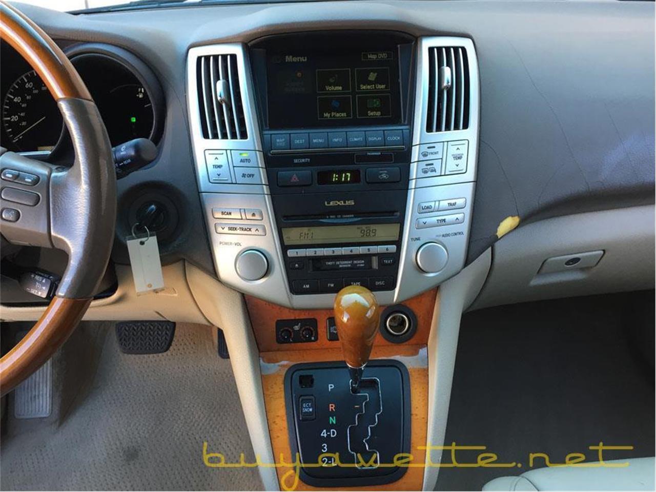 2005 Lexus Rx330 For Sale Cc 1027523 Interior Large Picture Of 05 M0ub