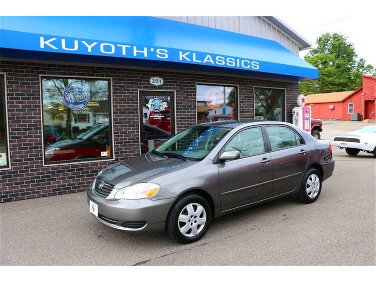 2008 Toyota Corolla For Sale >> For Sale 2008 Toyota Corolla In Stratford Wisconsin