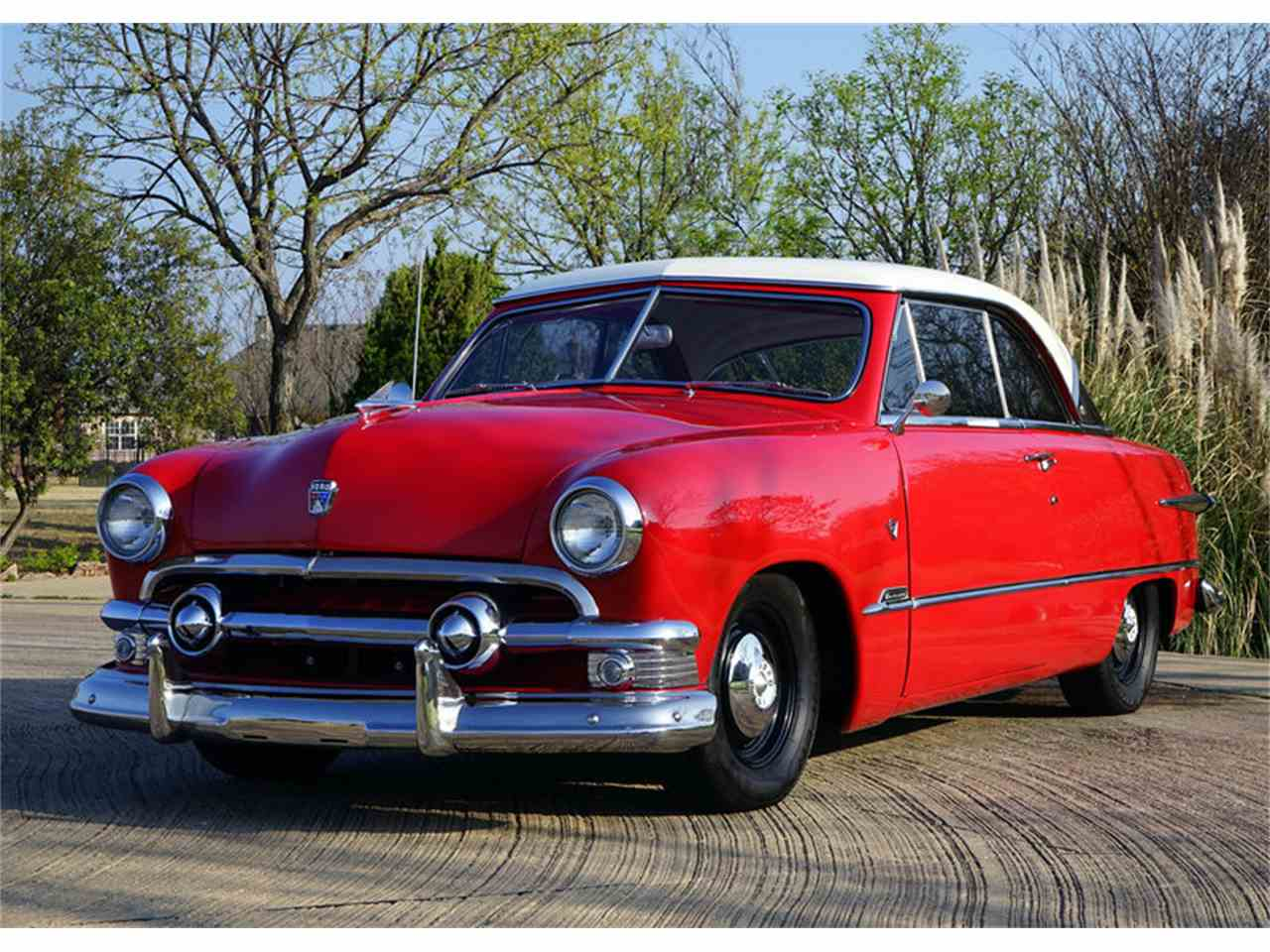1951 ford victoria for sale cc 1027596. Black Bedroom Furniture Sets. Home Design Ideas