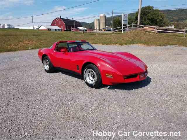 Picture of '81 Corvette - M12O