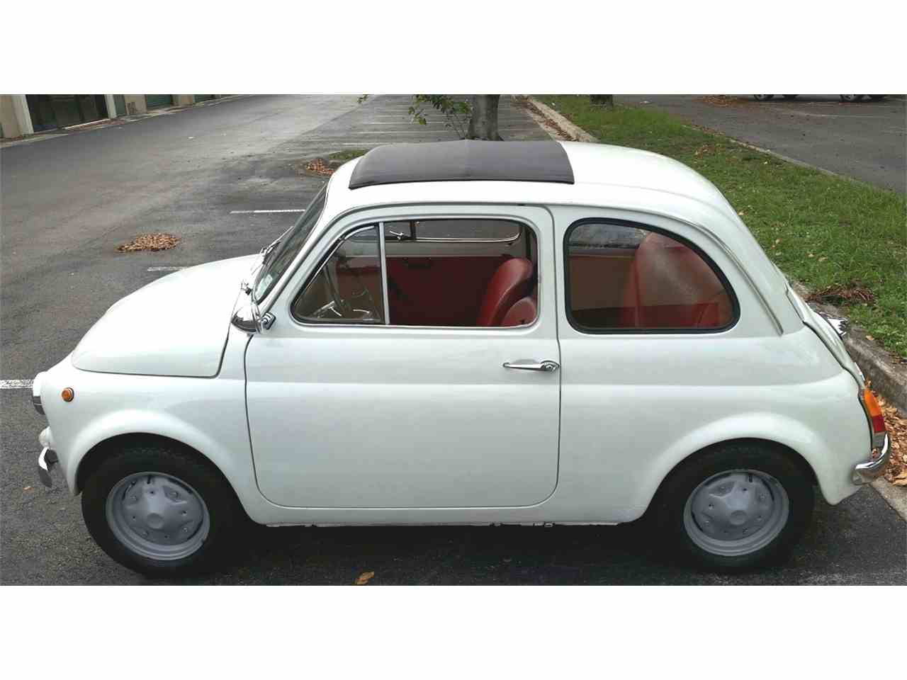 1973 fiat 500l for sale cc 1028192. Black Bedroom Furniture Sets. Home Design Ideas