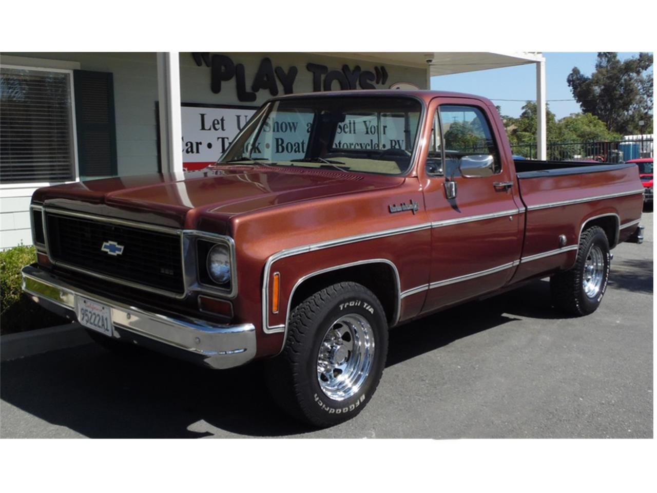 Chevy 3 3 >> For Sale 1973 Chevrolet 3 4 Ton Pickup In Redlands California