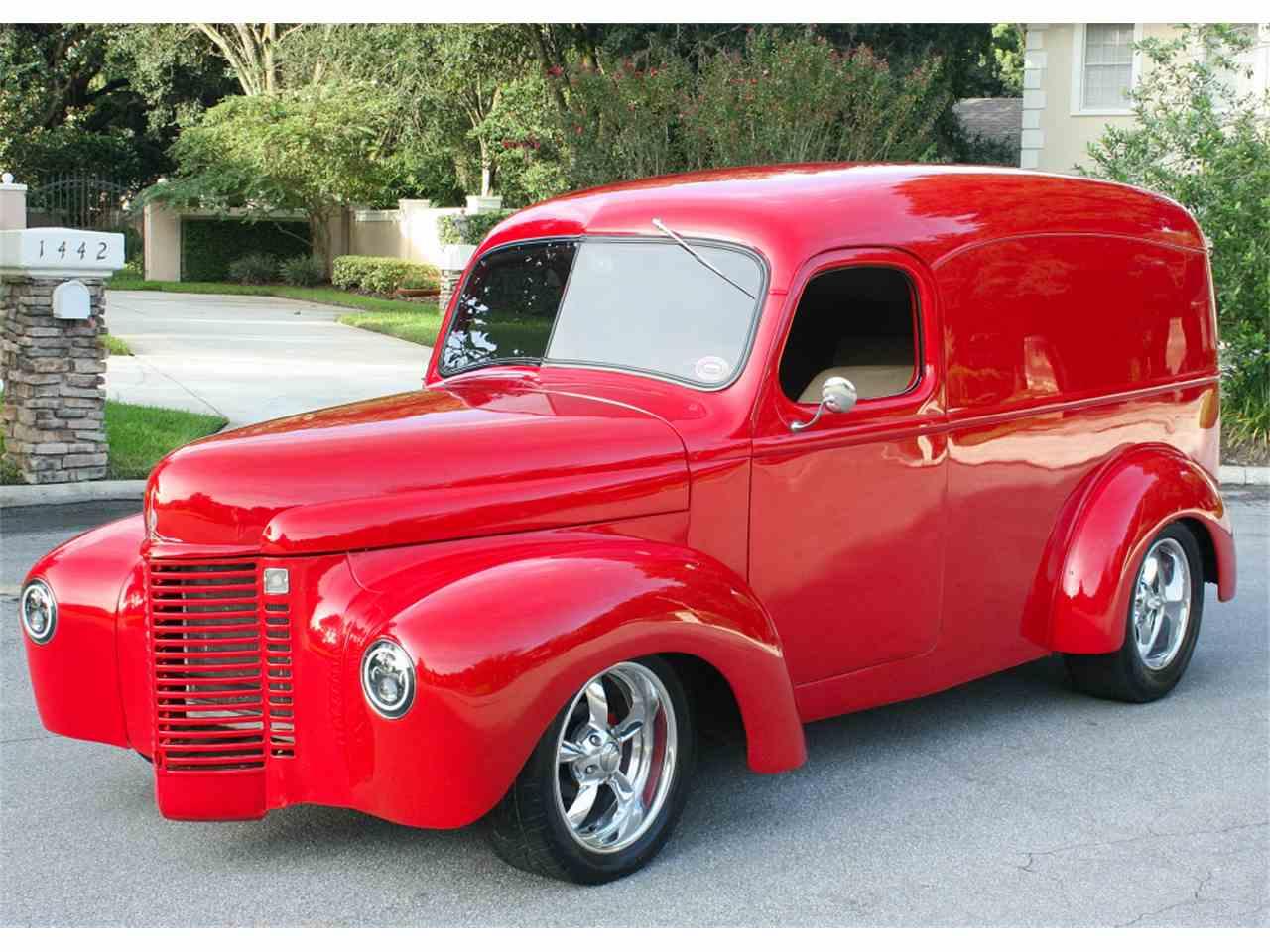 1941 international panel truck for sale cc 1028245. Black Bedroom Furniture Sets. Home Design Ideas