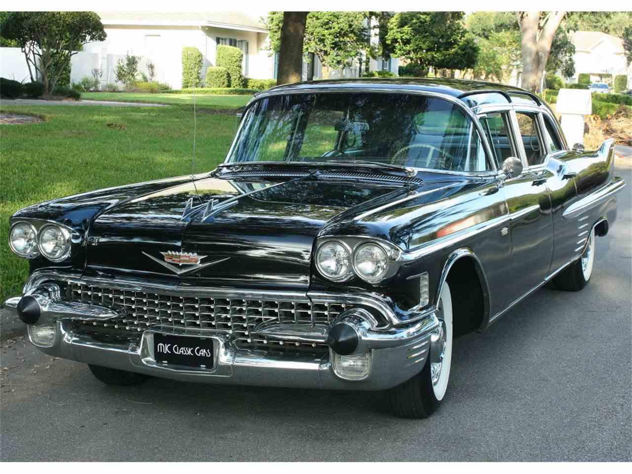 1958 Cadillac Fleetwood for Sale | ClicCars.com | CC-1028249