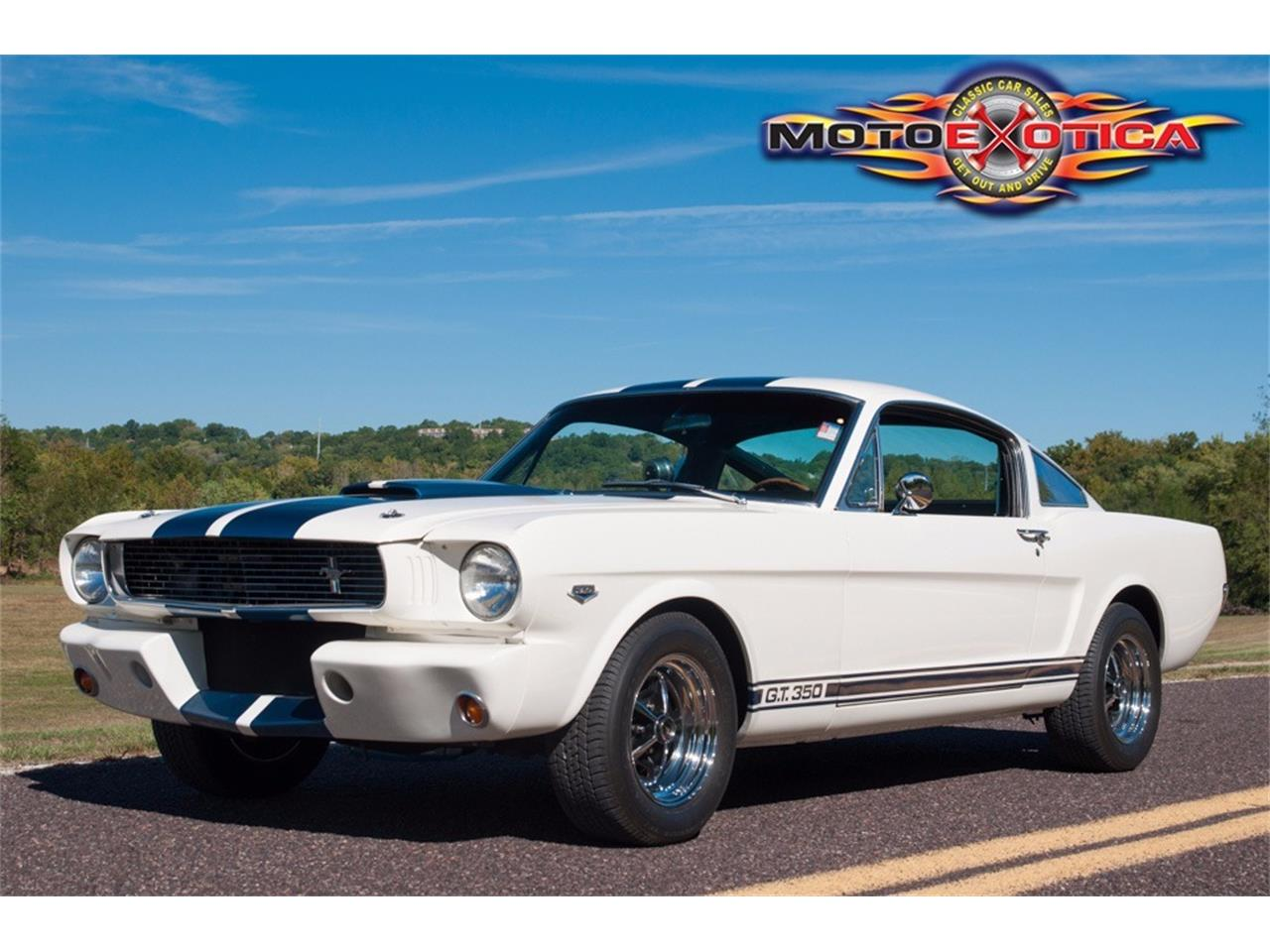 St Louis Ford Dealers >> 1966 Ford Mustang Shelby GT350 for Sale | ClassicCars.com | CC-1028263