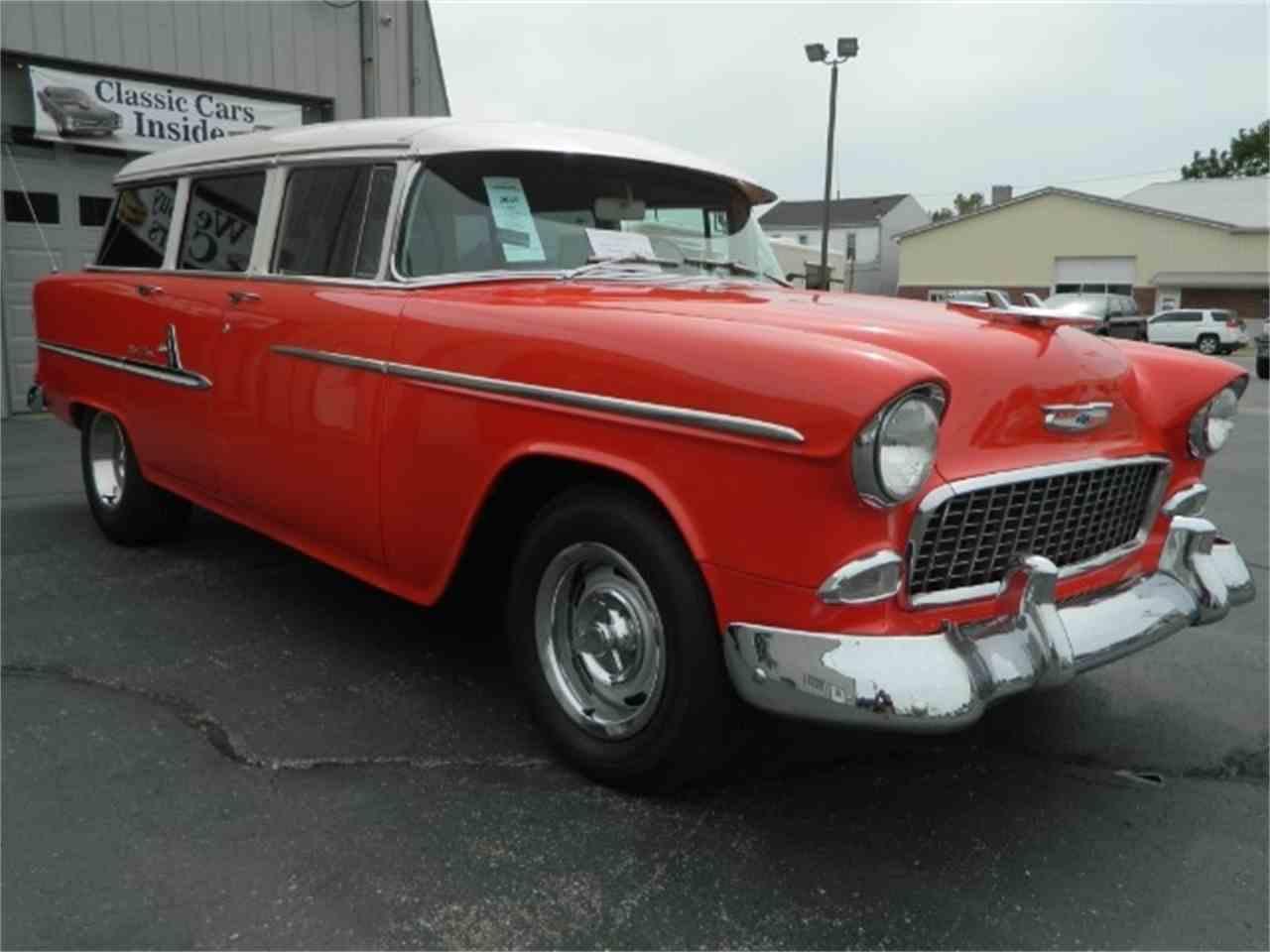1955 Chevrolet Station Wagon for Sale | ClassicCars.com | CC-1028583