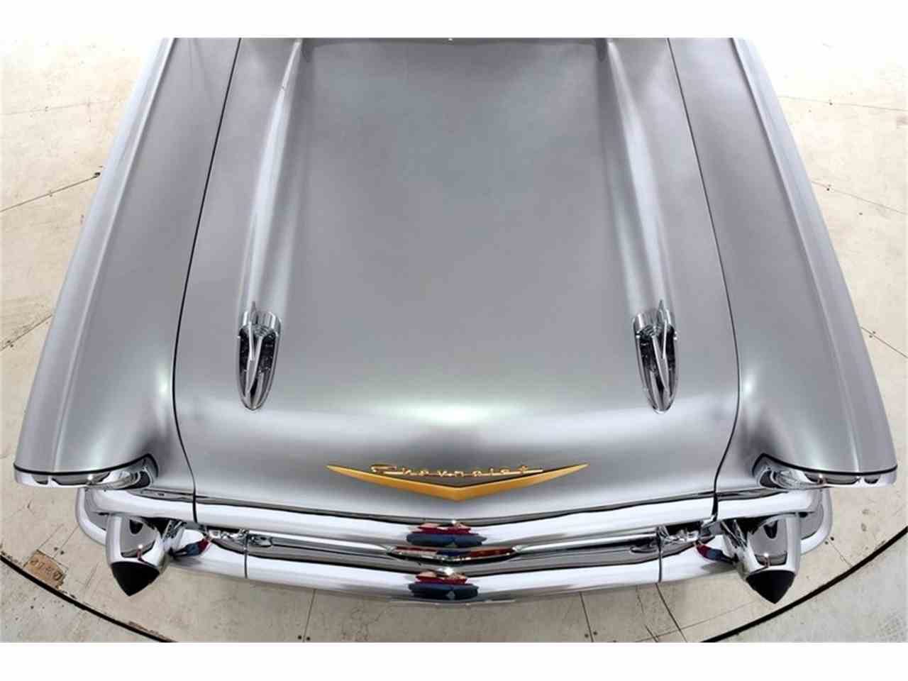 Large Picture of Classic '57 Chevrolet Bel Air located in Volo Illinois - $67,998.00 Offered by Volo Auto Museum - LVPR