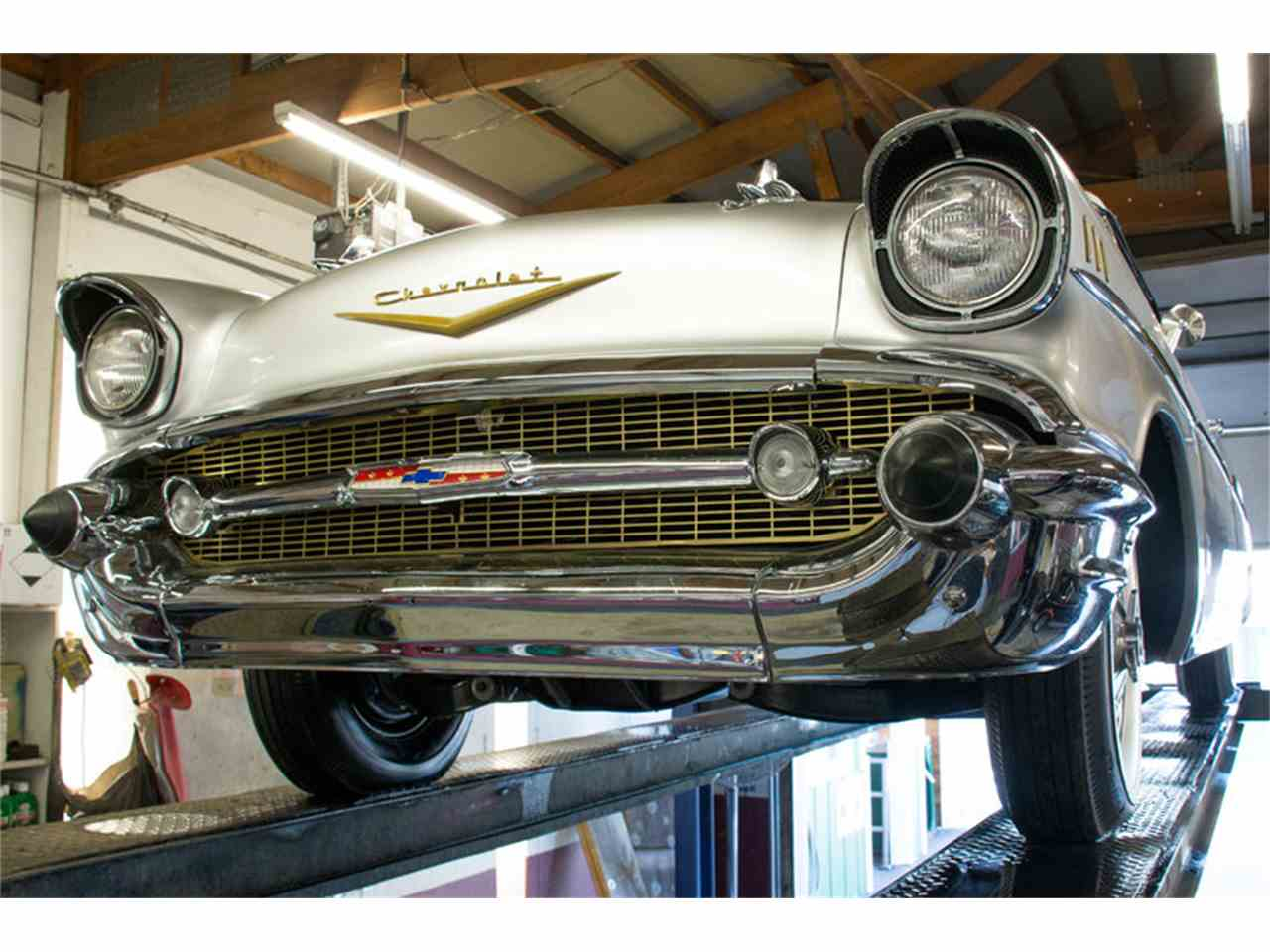 Large Picture of Classic 1957 Chevrolet Bel Air located in Illinois Offered by Volo Auto Museum - LVPR