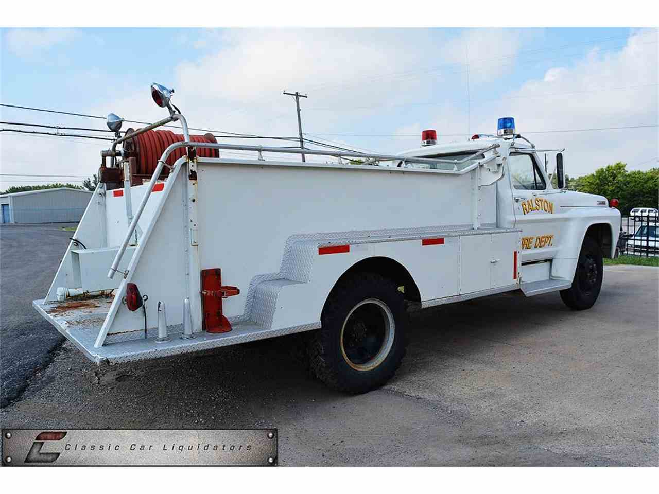 Large Picture of '67 Fire Truck - LVQM