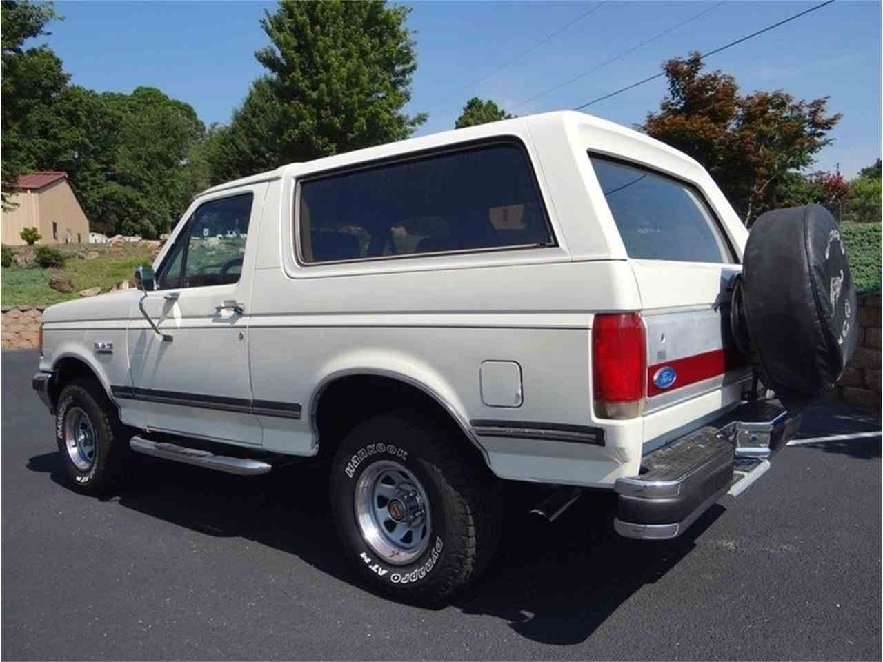 Large Picture of 1987 Bronco located in North Carolina Auction Vehicle - LVQS