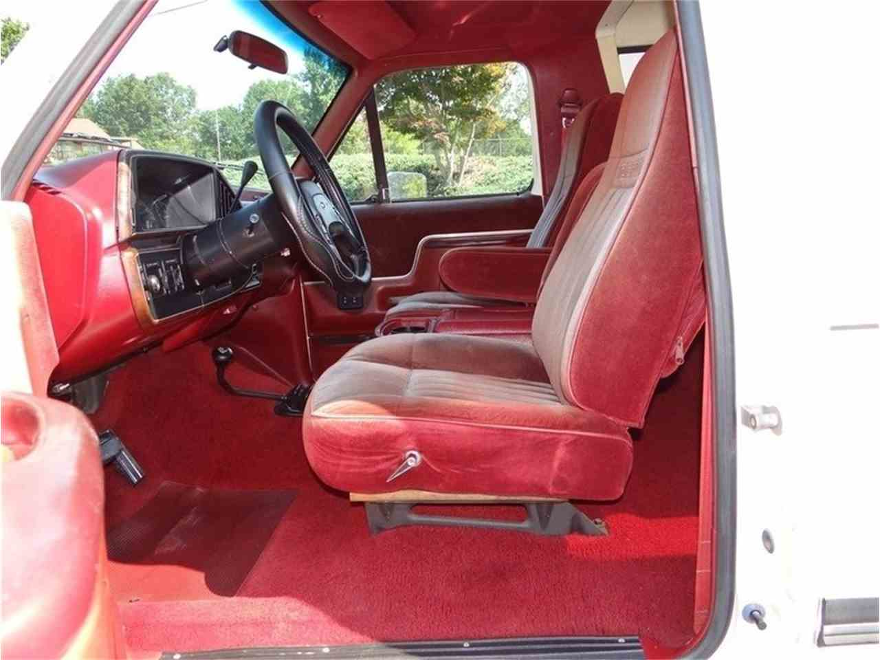 Large Picture of 1987 Bronco located in North Carolina Auction Vehicle Offered by GAA Classic Cars Auctions - LVQS