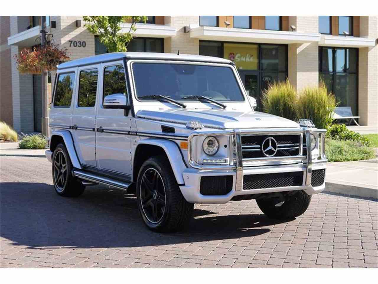 Large Picture of '13 G-Class - M2NF