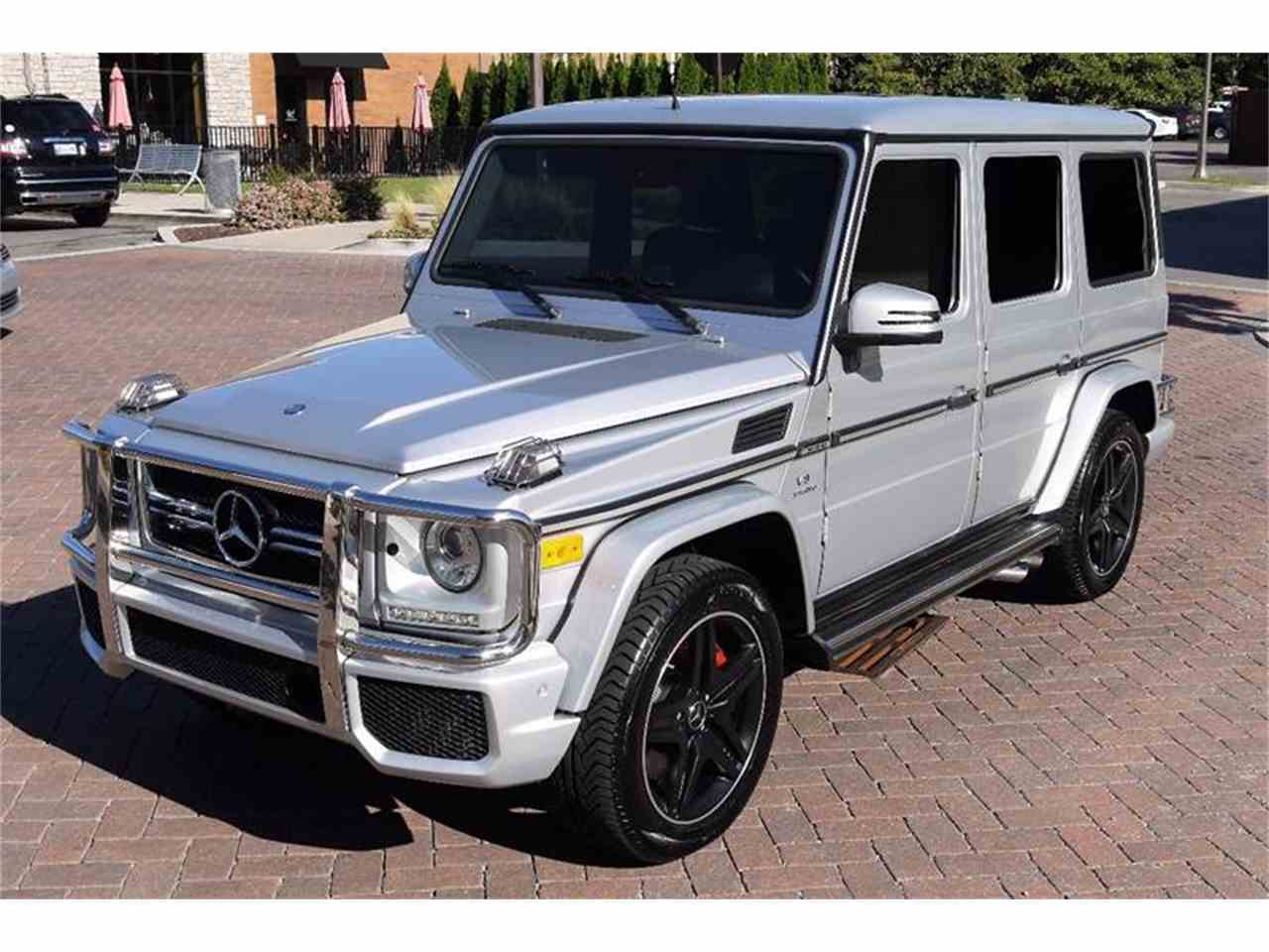 Large Picture of 2013 Mercedes-Benz G-Class located in Brentwood Tennessee Auction Vehicle Offered by Arde Motorcars - M2NF