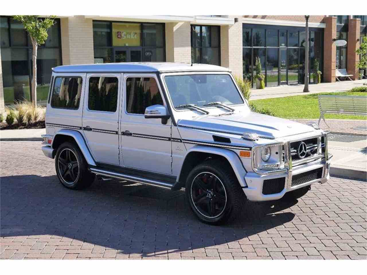 Large Picture of '13 Mercedes-Benz G-Class located in Brentwood Tennessee Auction Vehicle Offered by Arde Motorcars - M2NF