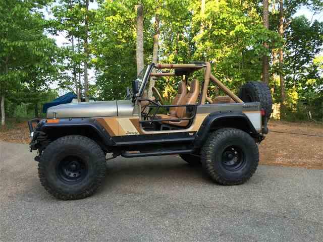 1989 Jeep Wrangler For Sale On Classiccars Com