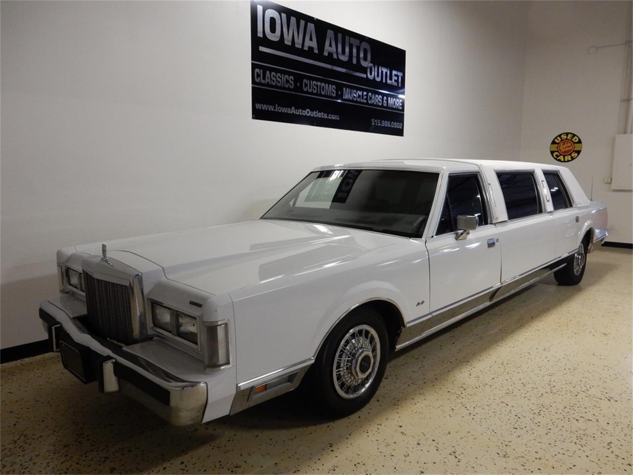 Limo For Sale >> For Sale 1987 Lincoln Limousine In Grimes Iowa