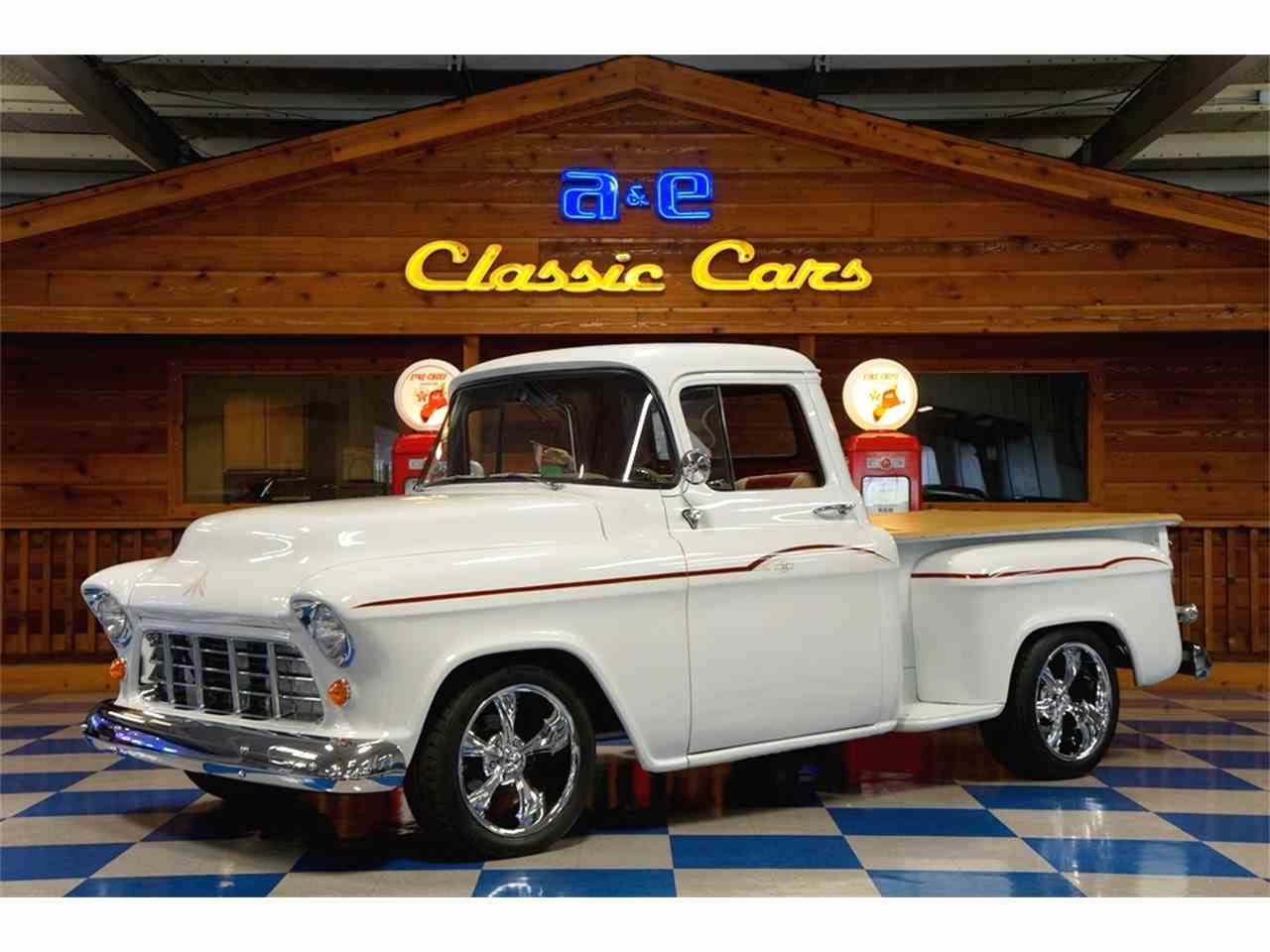1955 chevrolet pickup for sale cc 1031211. Black Bedroom Furniture Sets. Home Design Ideas