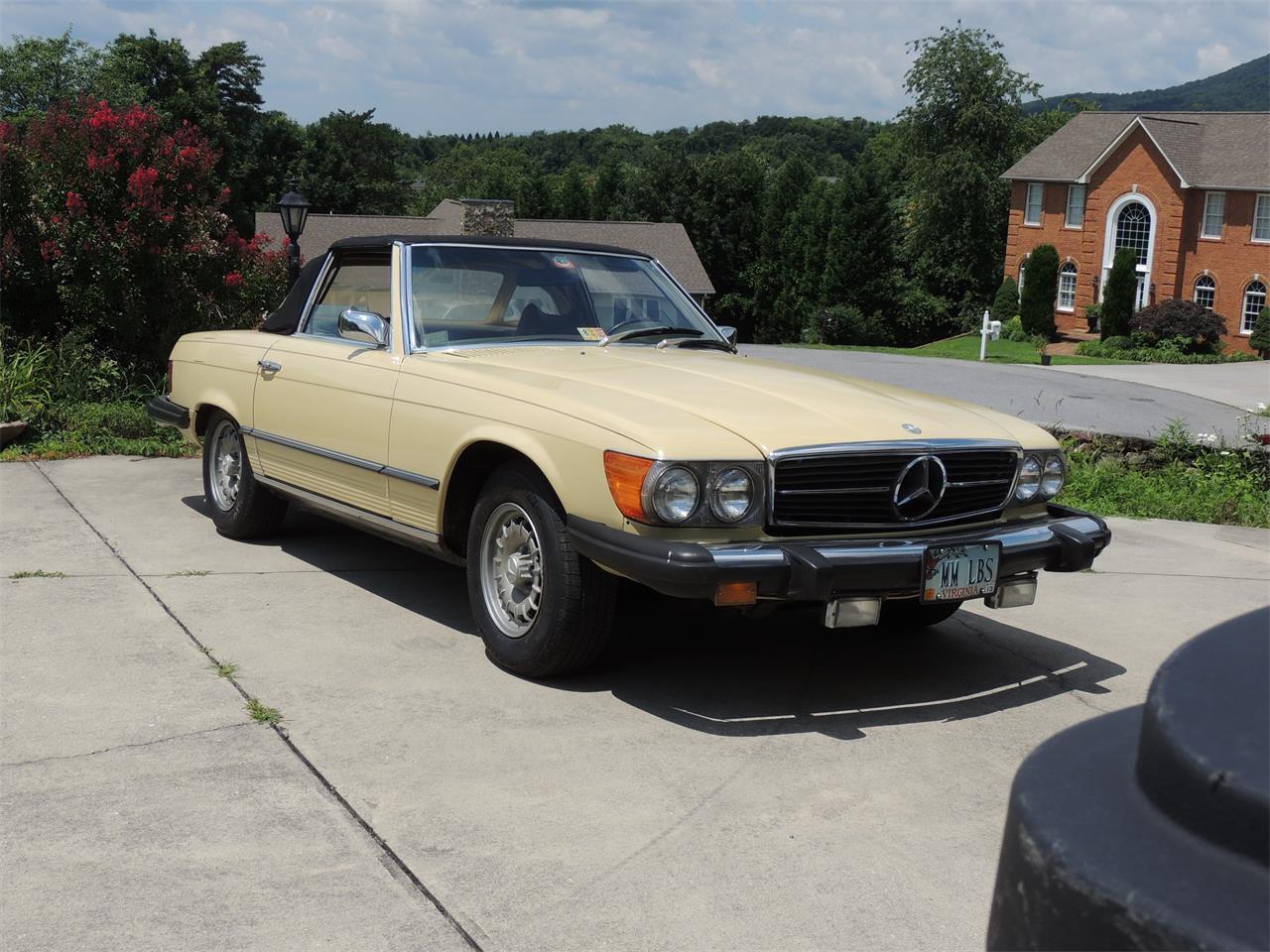 1975 mercedes 450sl value