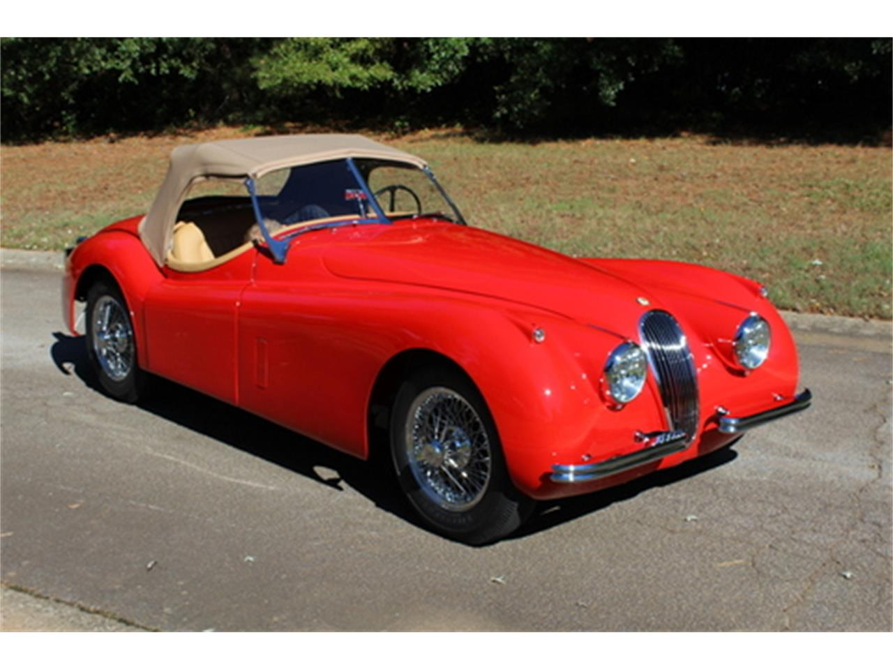 Large Picture of '54 Jaguar XK120 located in Georgia Offered by Fraser Dante - M3XH
