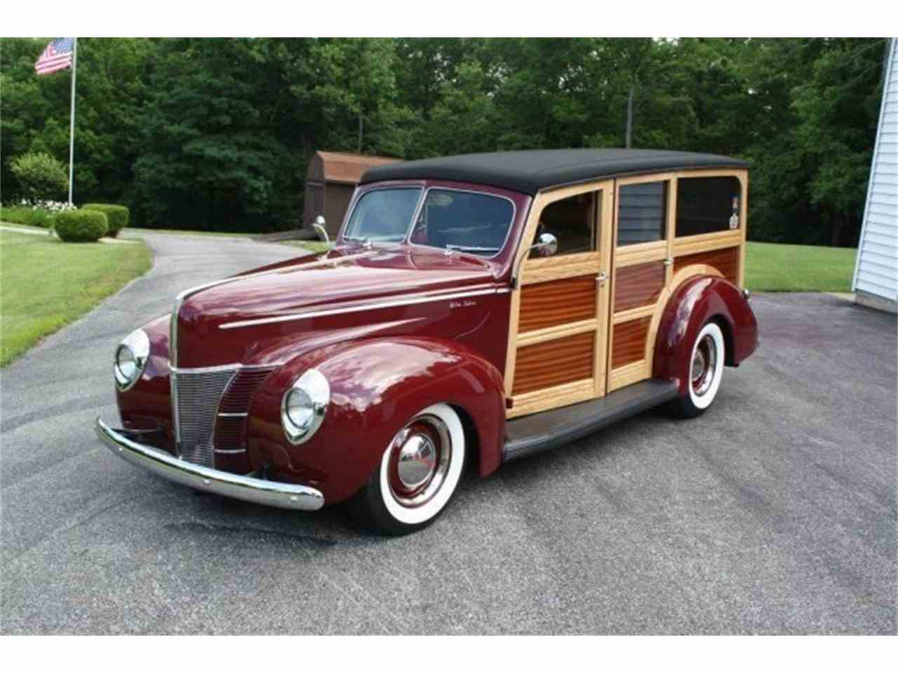 1940 ford woody wagon for sale cc 1031561. Black Bedroom Furniture Sets. Home Design Ideas