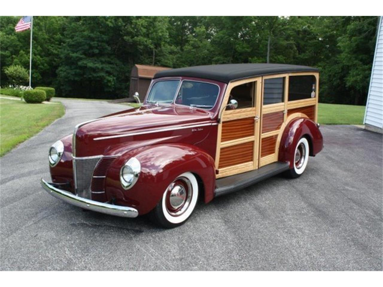 Large Picture of 1940 Ford Woody Wagon - $139,500.00 - M3YH