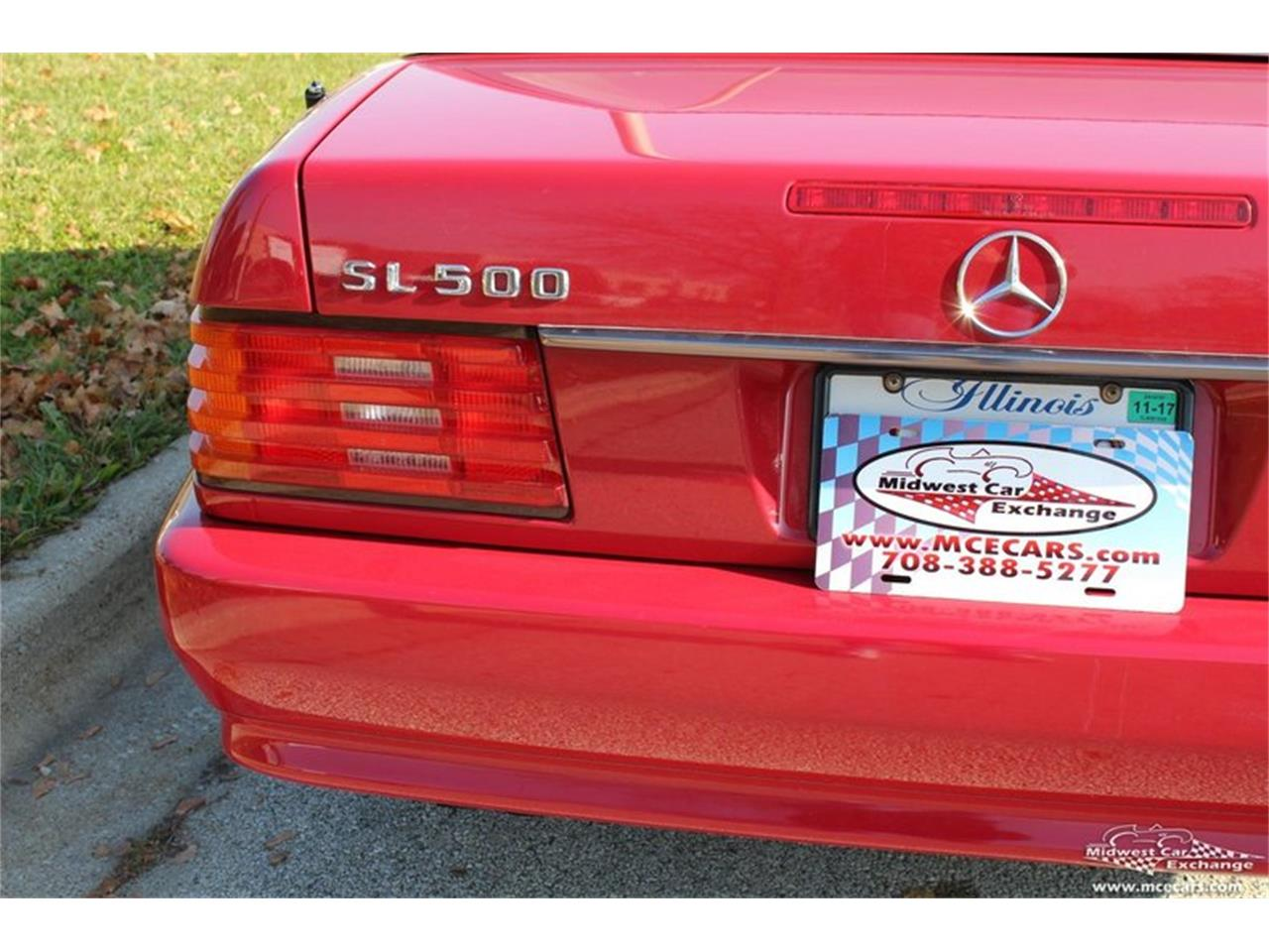 Large Picture of 1995 Mercedes-Benz SL500 located in Illinois Offered by Midwest Car Exchange - M42A