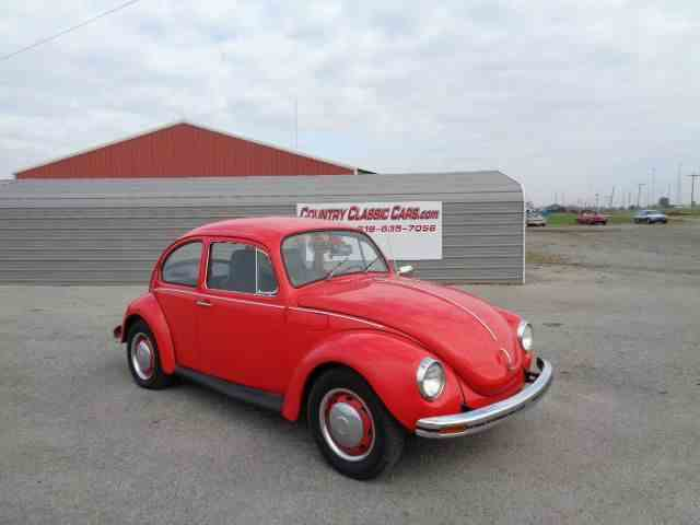 Picture of Classic 1972 Volkswagen Super Beetle located in Staunton Illinois Offered by  - M43J